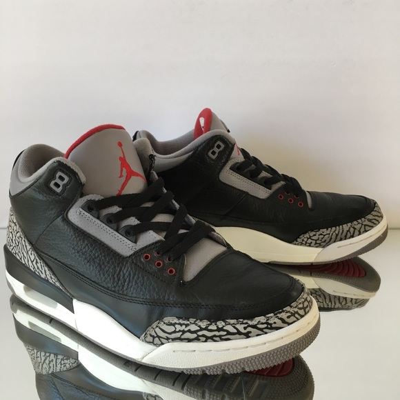buy popular a6da0 5c356 Jordan Other - Air Jordan 3 Retro (2011) Black Cement Size 11
